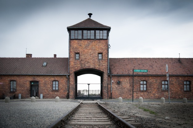 Photograph of Auschwitz