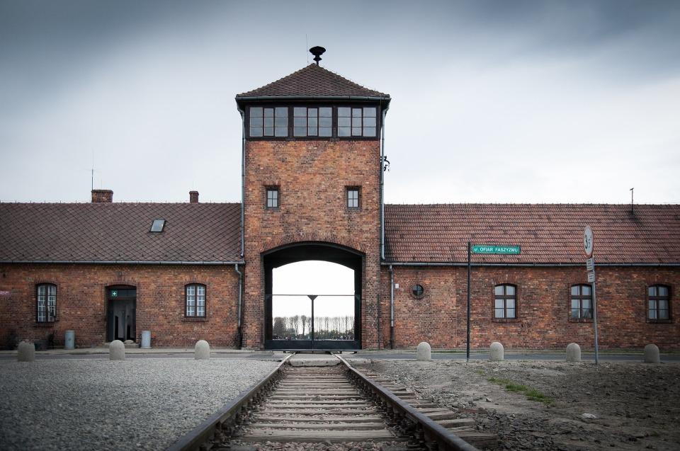 Photograph of Auschwitz